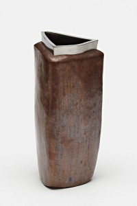 Vase / Copper, Stainless Steel