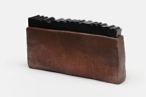 Container / Copper, Black Chromed Brass