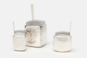 Sugar Containers / 925 Silver