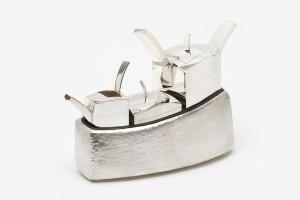 Tea Set  /  925 Silver, 999 Silver